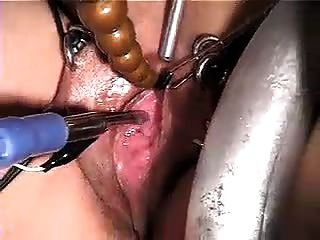 Black leaking pussy