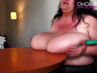 BBW natürlichen Titten Superstar Sabrina Meloni