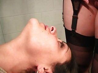 lesbian bondage face sitting
