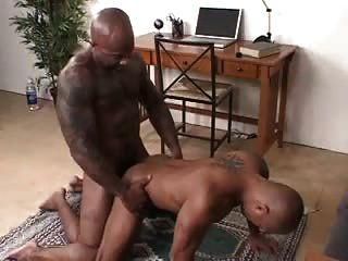 Straight black men gay sex