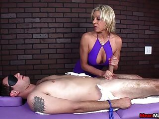 Awesome Blowjob And Handjob And She Makes Him Cum Evil Red Tmb